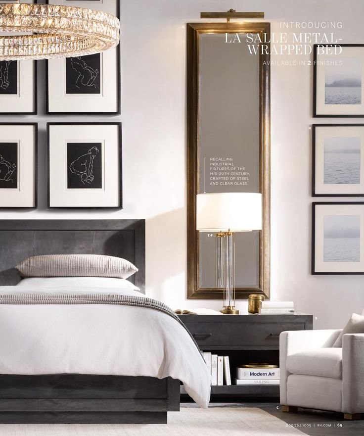 Best Love The Long Mirrors Over Nightstands Framing The Bed On With Pictures