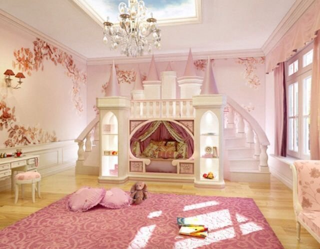 Best Amazing Princess Bedroom Ideas Castle Bed Kids With Pictures