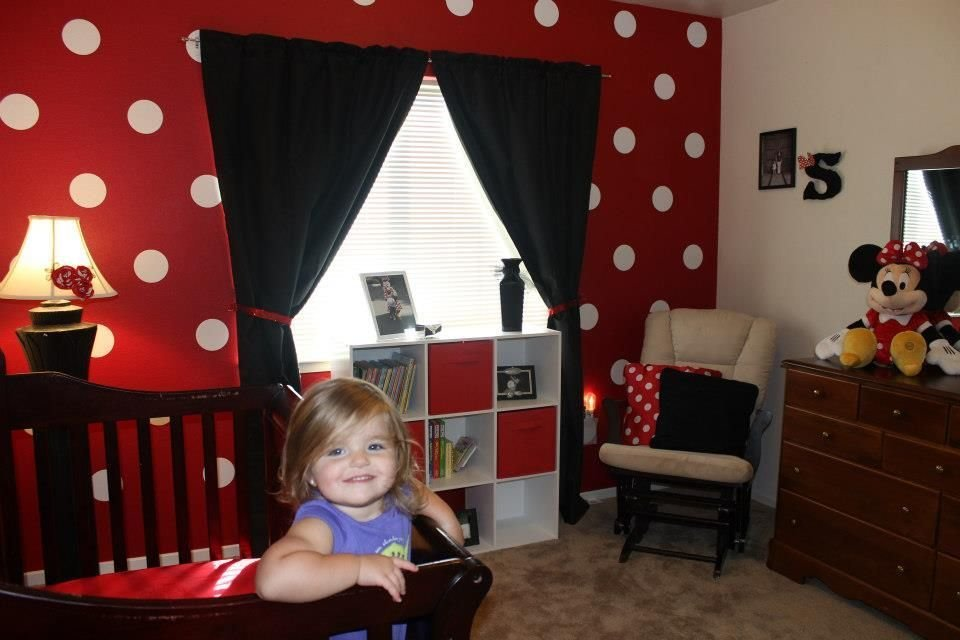 Best Big Girl Minnie Mouse Room Color Themed As Opposed To With Pictures