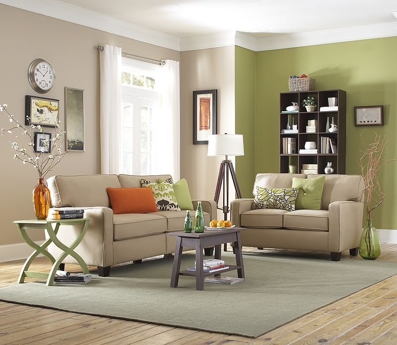 Best Green And Cream Living Room Real Estate Ideas Cream With Pictures