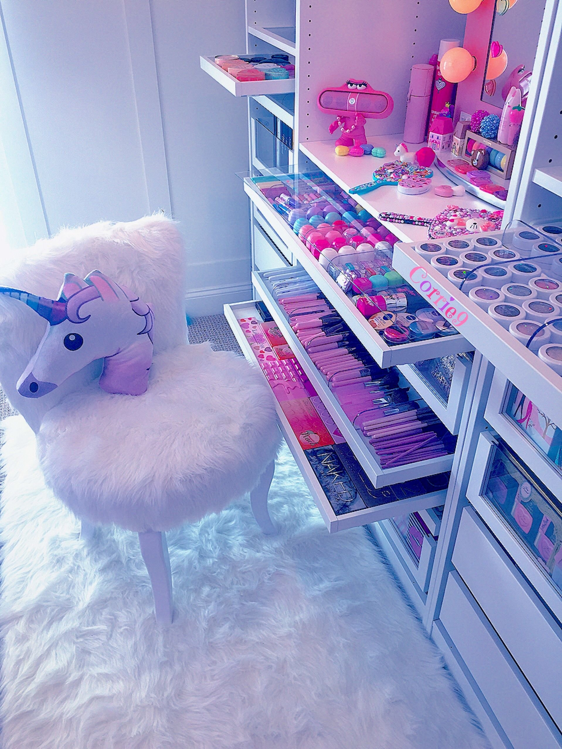 Best Unicornroomdcore Sweet Pink Cute Girl Bedroom Décor With Pictures