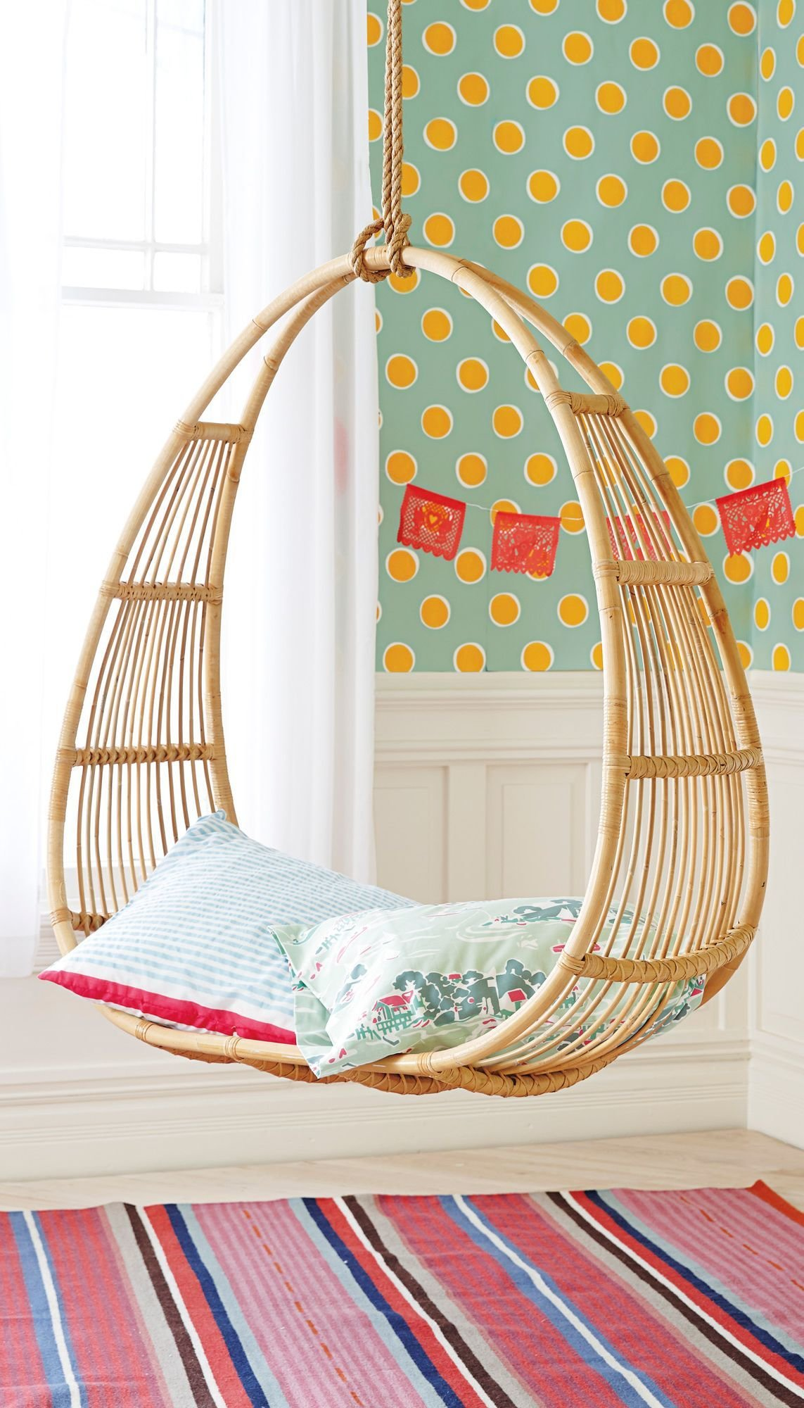 best ceiling hanging chairs for bedrooms with pictures