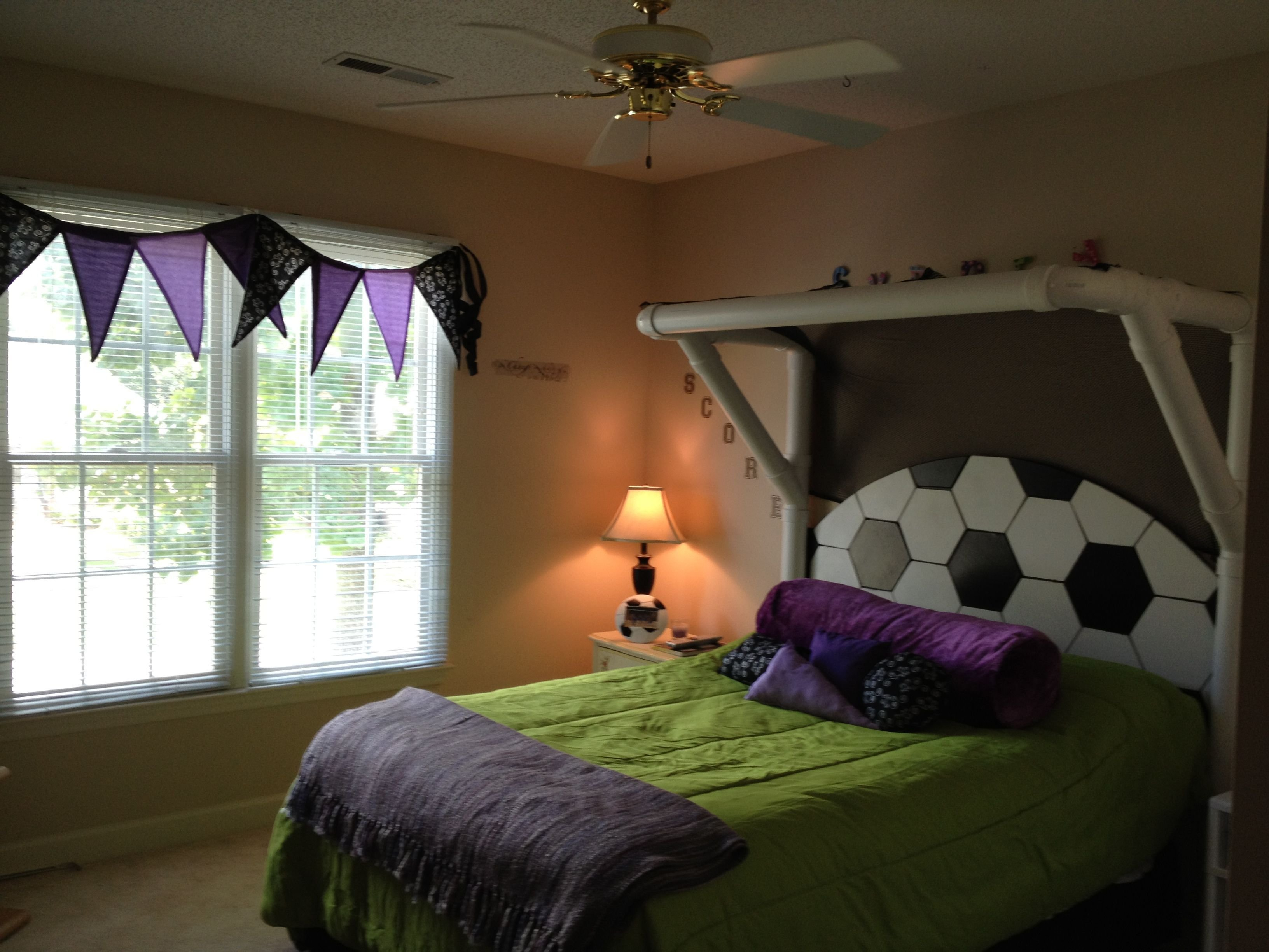 Best Kid S Soccer Bedroom Love This For Camden Cool Bed And With Pictures