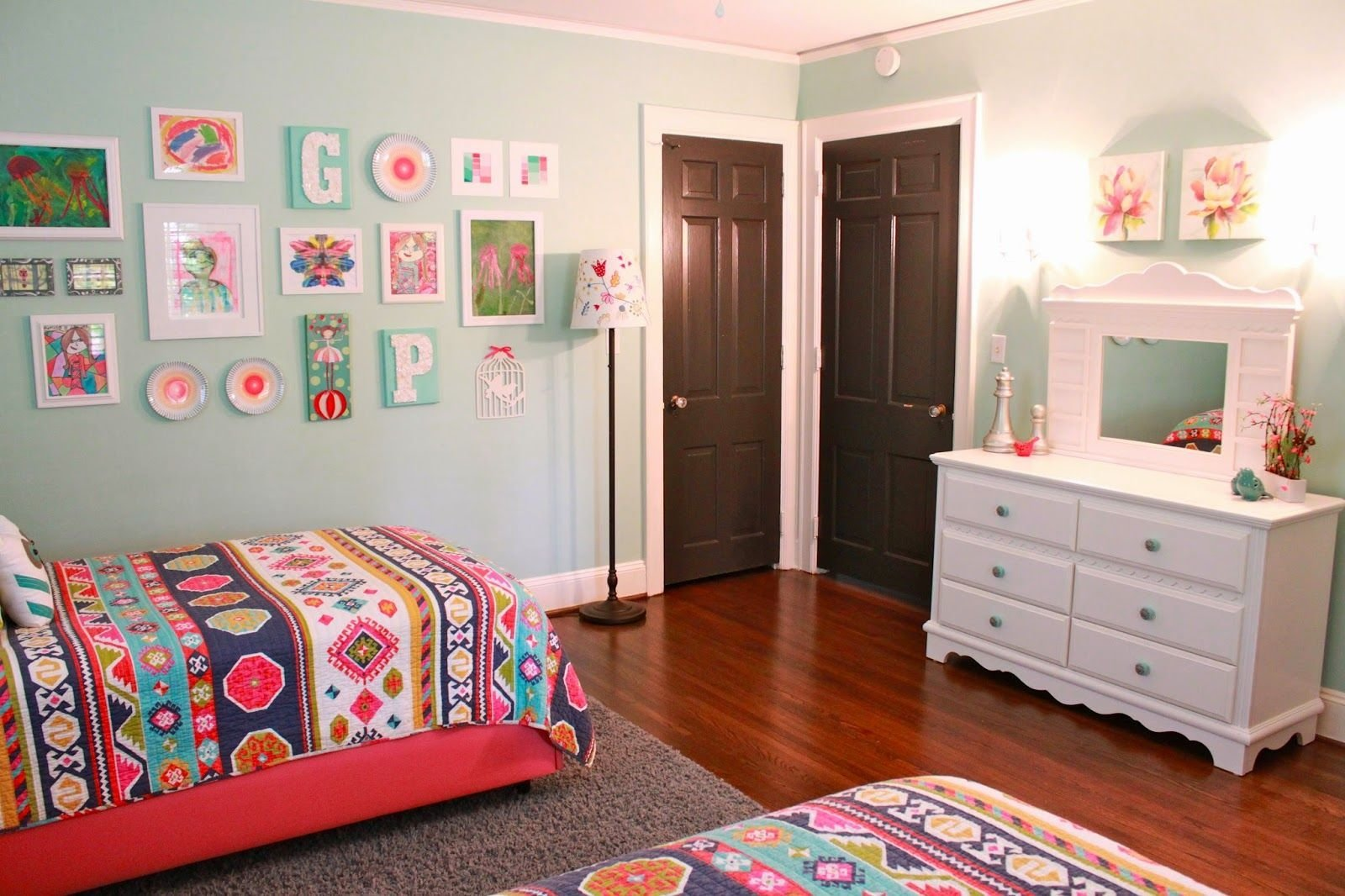 Best Home Transformation The Girls Room Update Girls Room In 2019 Girls Bedroom Girl Room 4 With Pictures