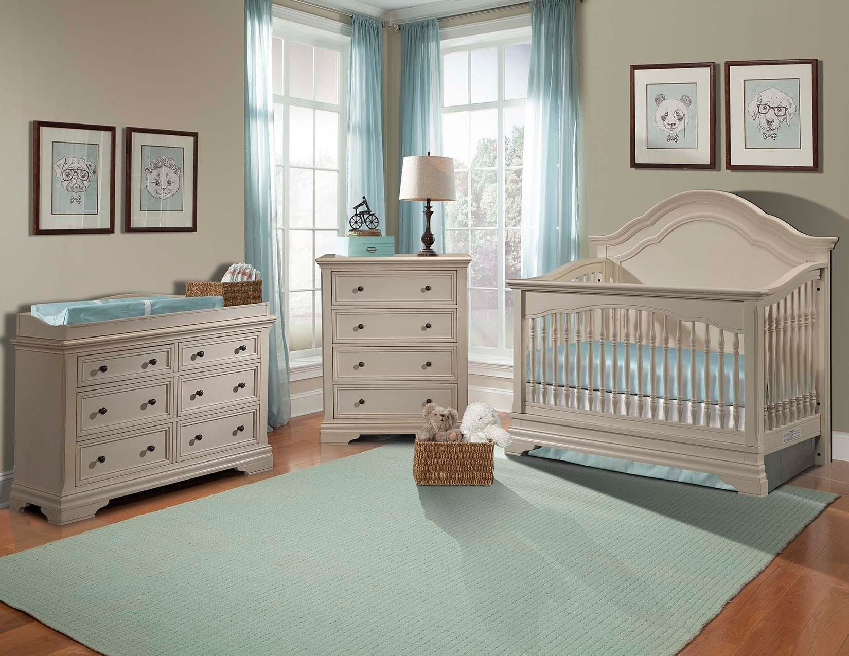 Best Stella Baby And Child Athena 3 Piece Nursery Set In Belgium Cream Baby Nursery Baby Nursery With Pictures