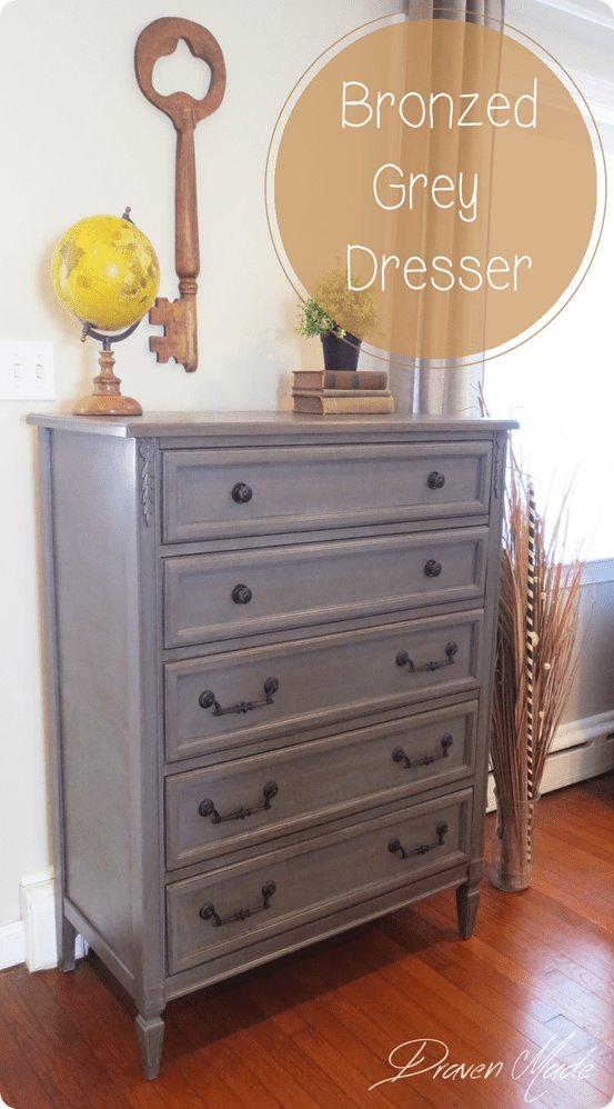 Best Antique Gray Dresser Makeover Painted Furniture Ideas With Pictures