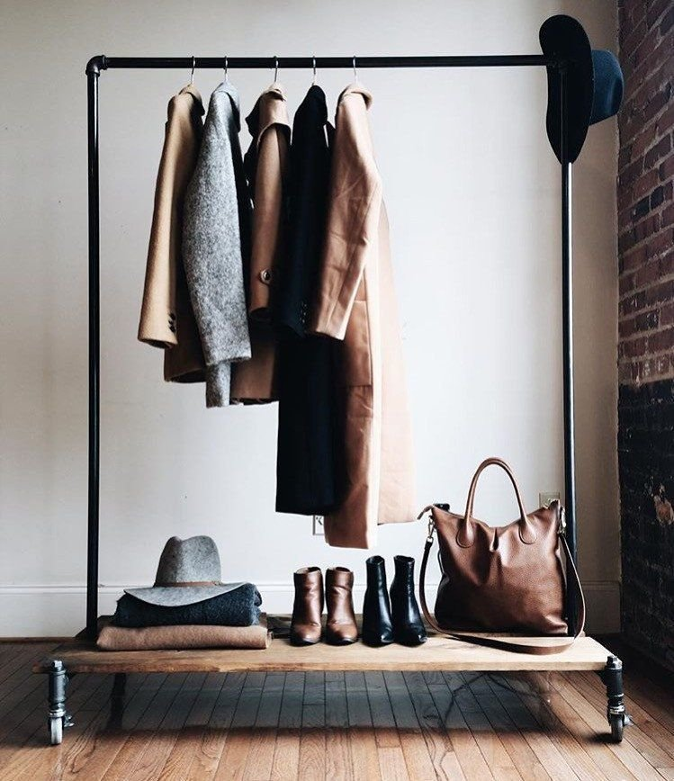 Best Clothing Rack With Distressed Wood Platforms Home Pinterest Woods Bedrooms And Shop With Pictures