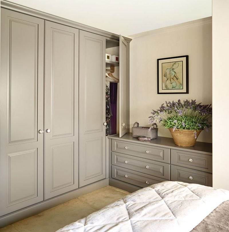 Best Built In Bedroom Wardrobes Painted Kitchens Bedrooms Furniture Handmade In Britain Since With Pictures