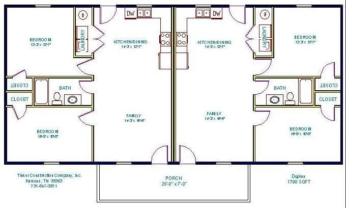 Best 2 Bedroom Floorplans Google Search Rautiki Plans Duplex House Plans Duplex Plans Duplex With Pictures
