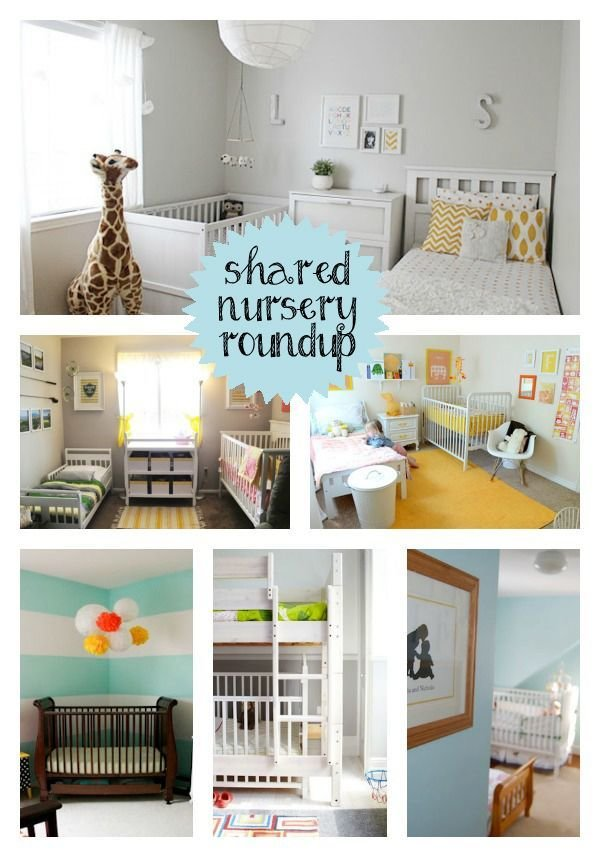 Best Be Still My Heart Shared Nursery And Toddler Room Roundup With Pictures