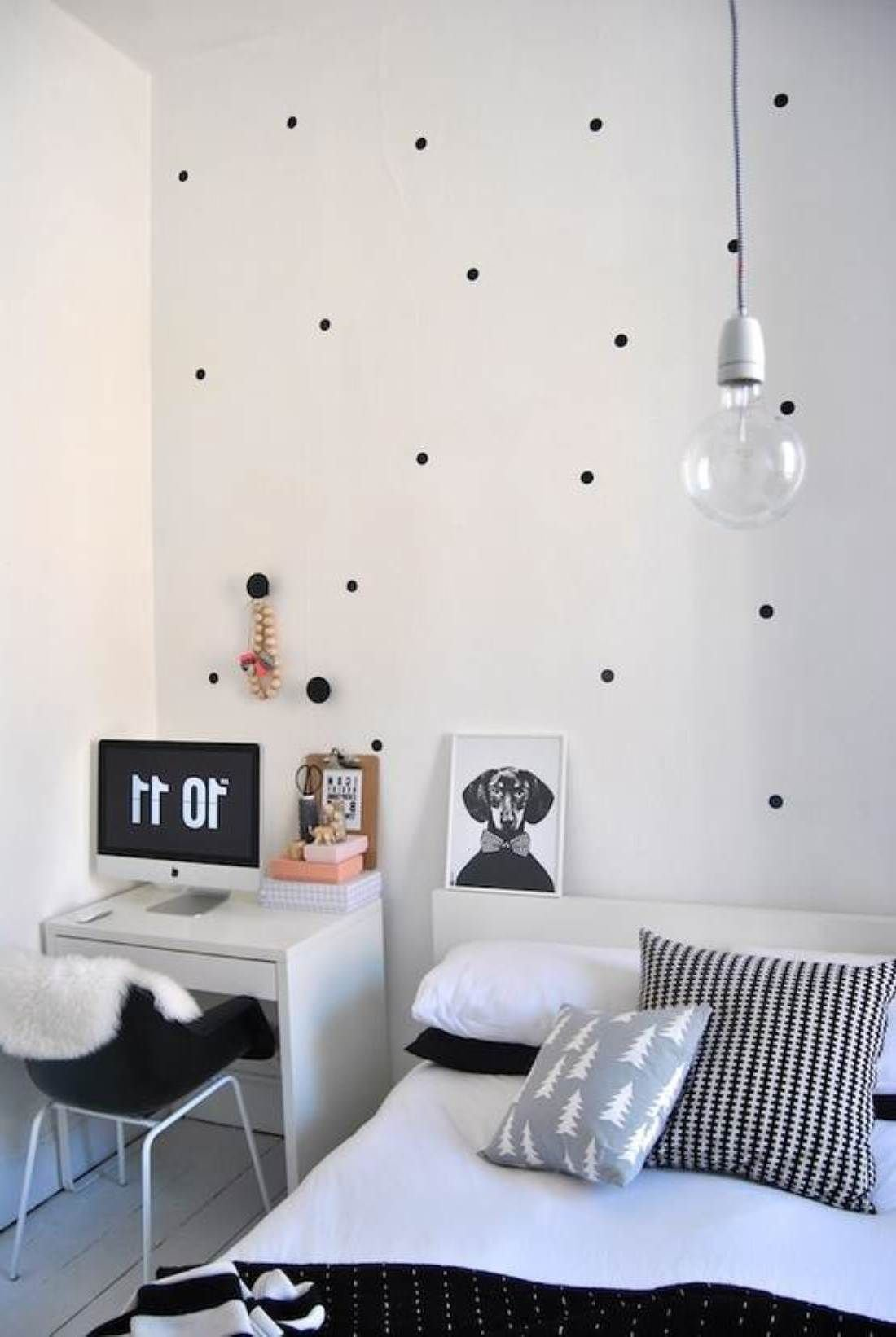 Best Black White Simple Bedroom Decorating Ideas For Young Women Karlitas Casita Pinterest With Pictures