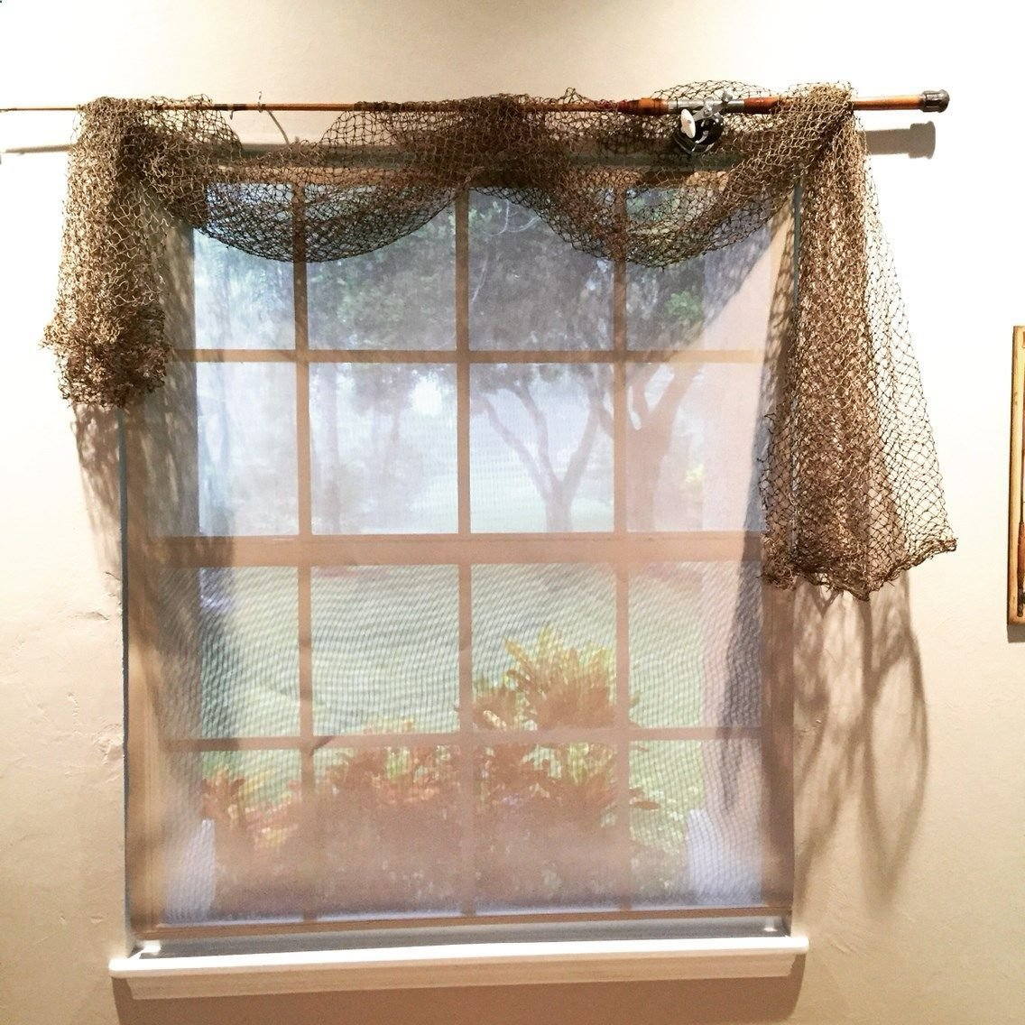 Best Fishing Pole Curtain Rod Fish Net Curtains Fishing With Pictures