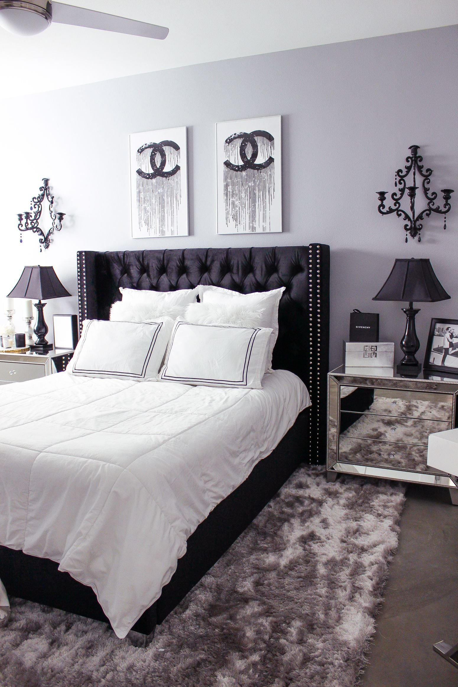 Best Black White Bedroom Decor Reveal Home Decor Ideas With Pictures