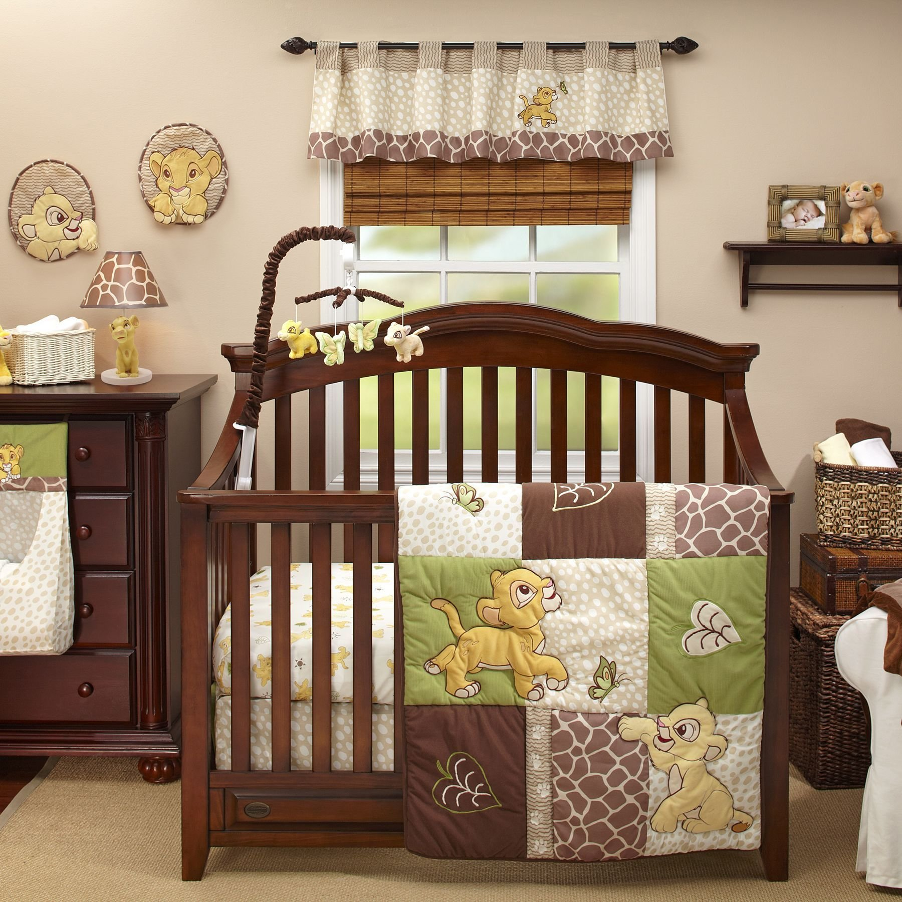 Best The Lion King 4 Piece Crib Bedding Set Next Baby Baby With Pictures