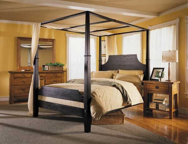 Best Broyhill Bedroom Sets On Attic Heirlooms Rustic Oak Panel With Pictures