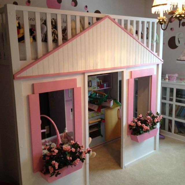 Best Playhouse Bed For The Kids Barnrum Bebis With Pictures