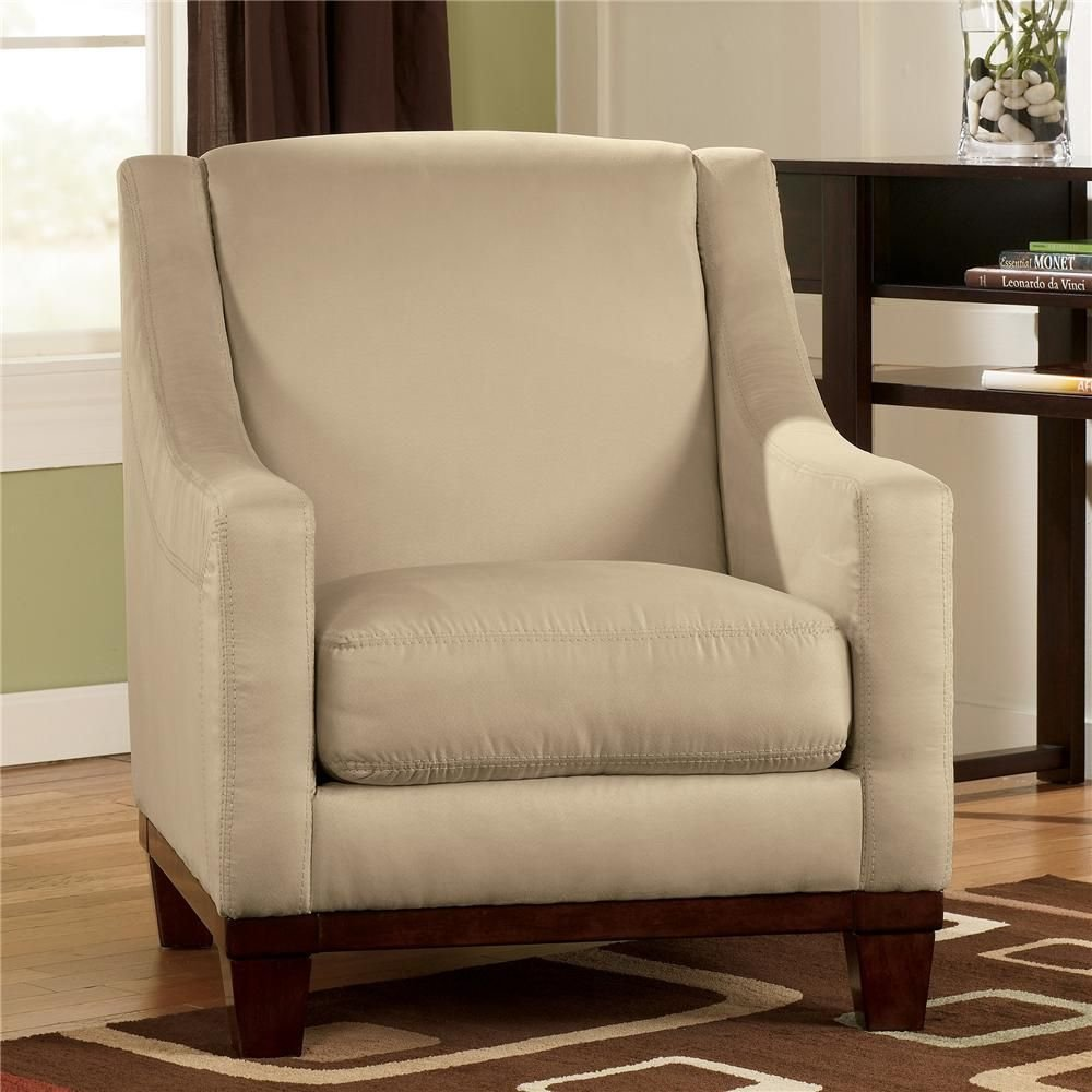Best Fusion Khaki Accent Chair By Signature Design By Ashley With Pictures