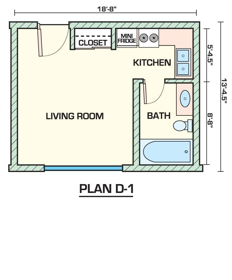 Best Apartment 14 Studio Apartments Plans Inside Small 1 With Pictures
