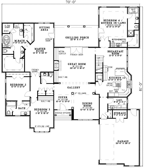 Best Plan 5906Nd Spacious Design With Mother In Law Suite With Pictures