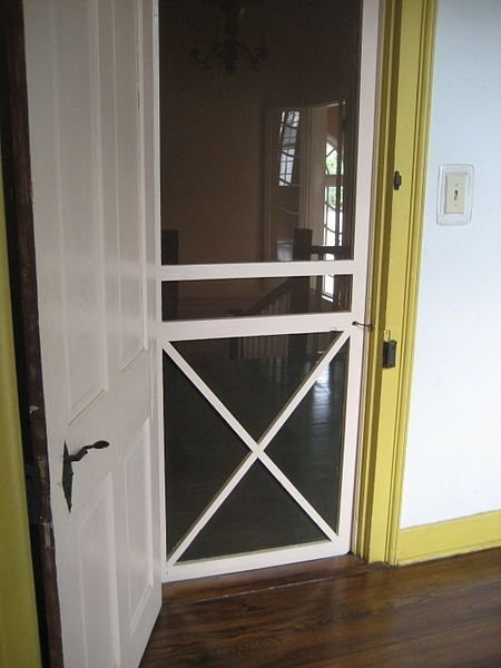 Best Interior Screen Door For Guest Room To Keep Out Cats But With Pictures