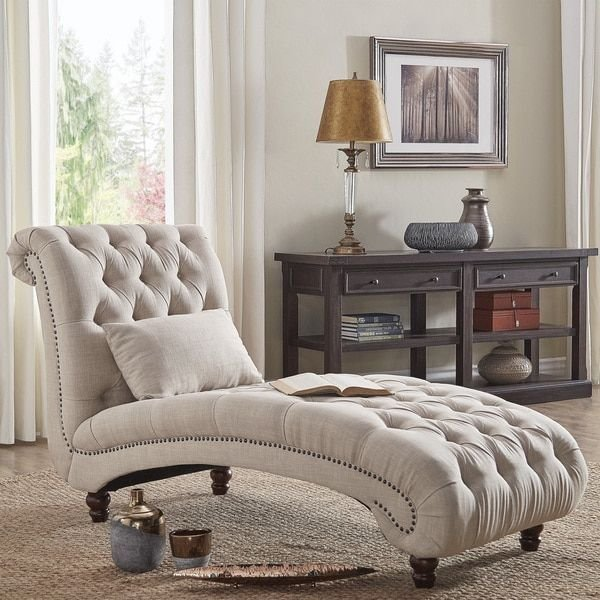 Best Knightsbridge Tufted Oversized Chaise Lounge By Signal With Pictures