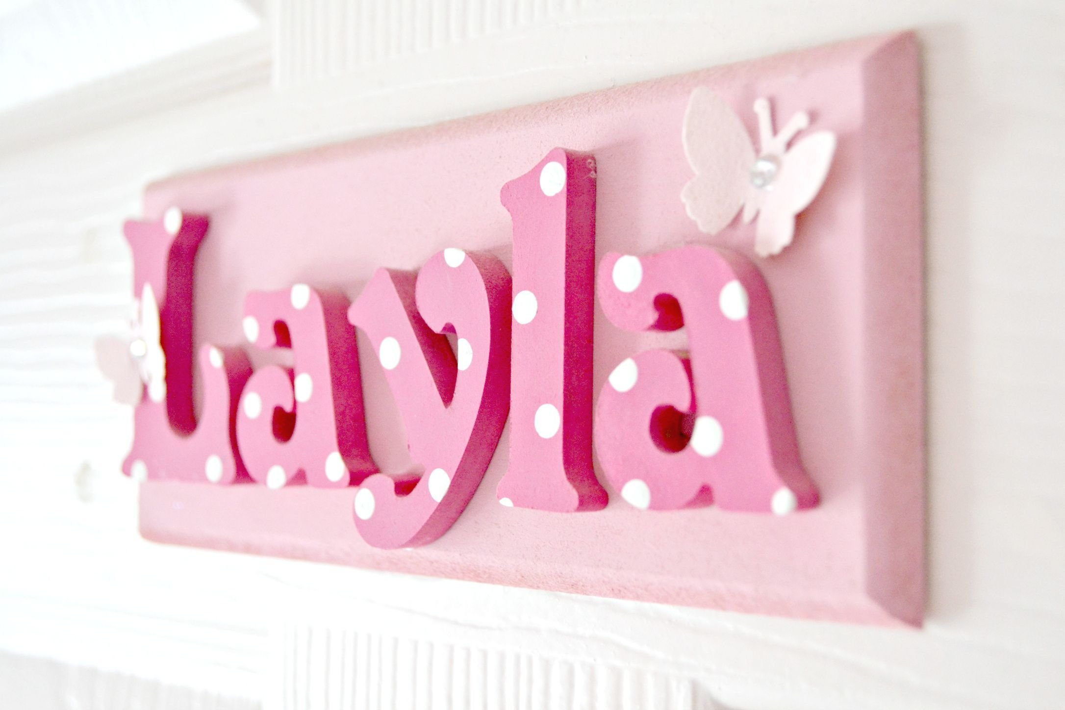 Best Layla S Door Name Plaque Www Suggys Co Uk Leanne Layla With Pictures