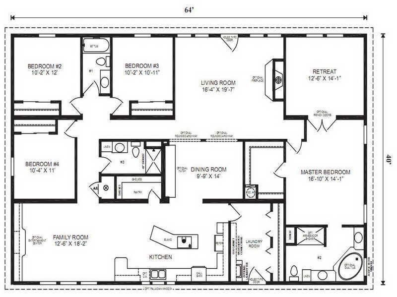 Best Modular Home Floor Plans Modular Home Floor Plans Master With Pictures