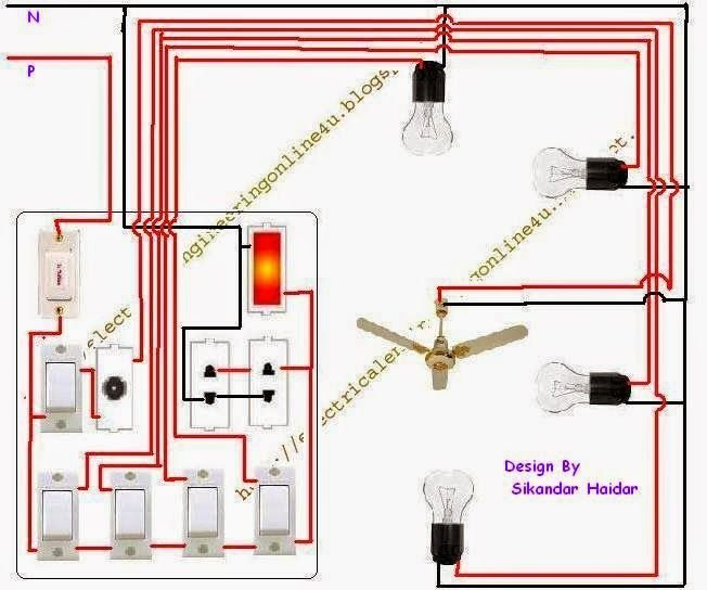Best The Complete Method Of Wiring A Room With 2 Room Wiring With Pictures
