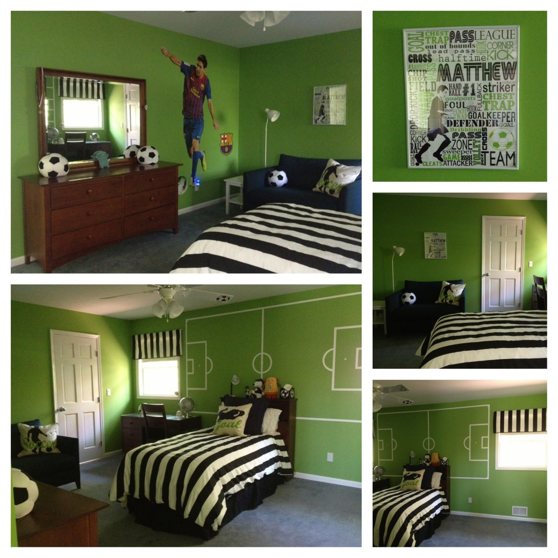 Best Soccer Room Kids Room Decor With Pictures
