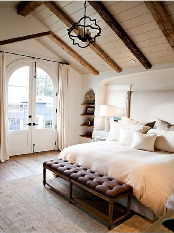 Best Master Bedroom Idea Vaulted Ceiling With Exposed Beams With Pictures