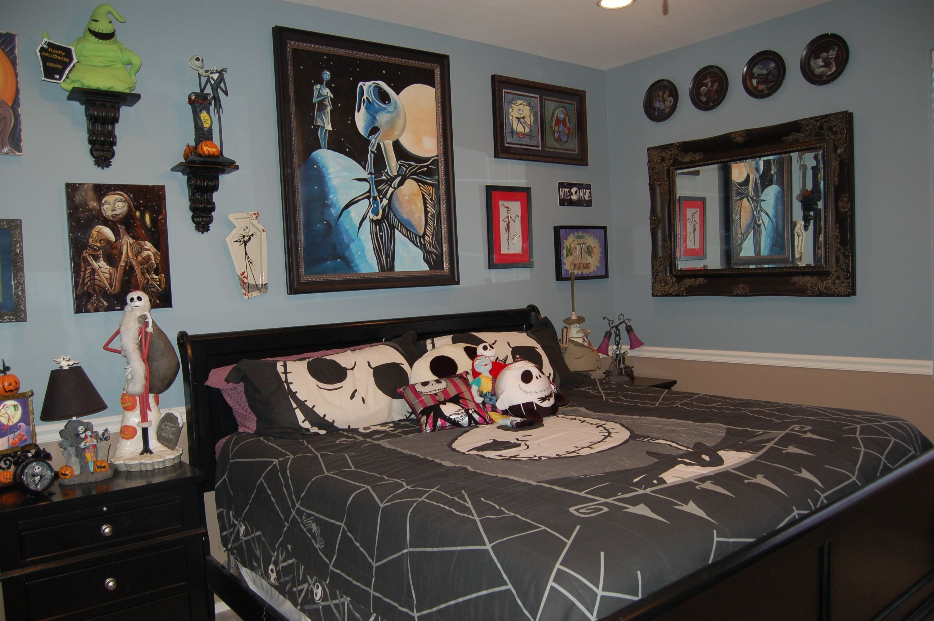 Best Disney Nightmare Before Christmas Bedroom Decorating With Pictures