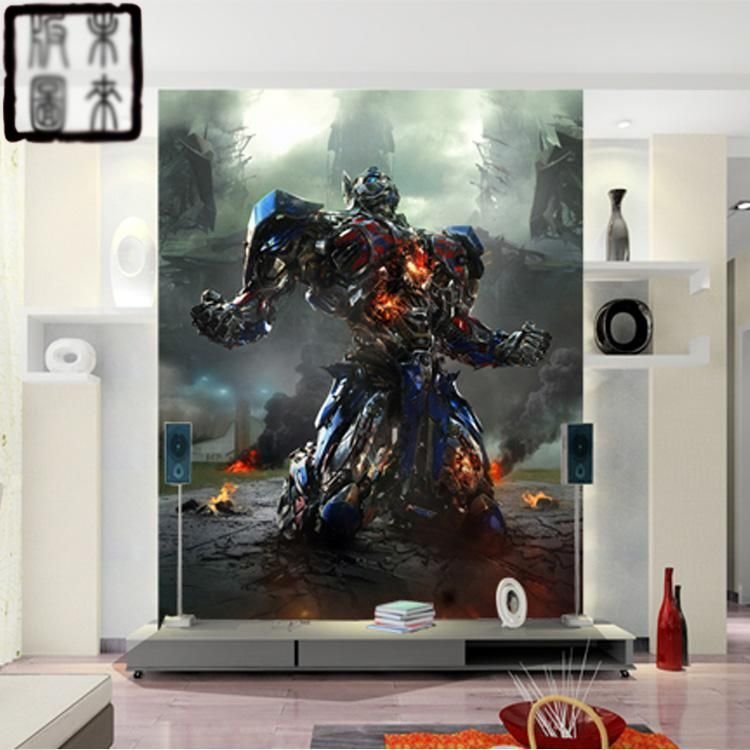 Best Transformers Giant Photo Optimus Prime Wallpaper 3D Wall With Pictures