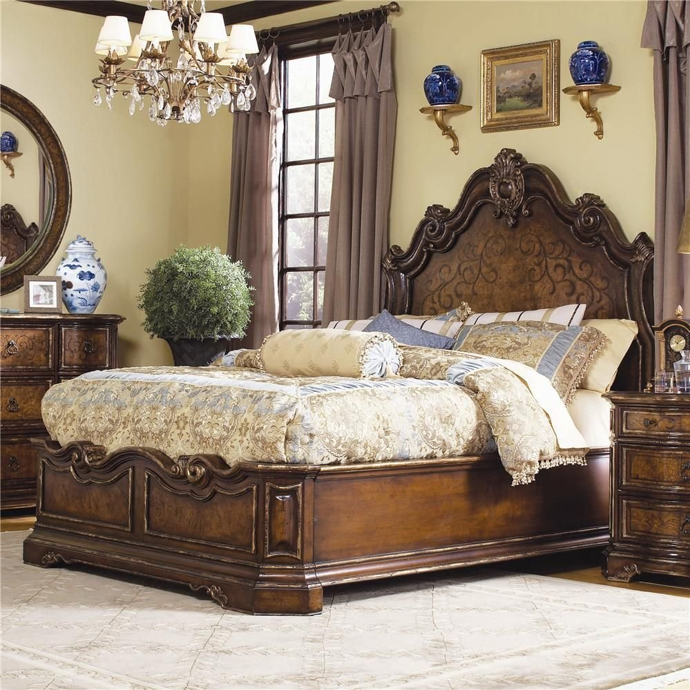 Best Beladora California King Platform Bed By H**K*R Furniture With Pictures