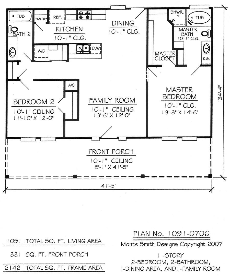 Best Nice Two Bedroom House Plans 14 2 Bedroom 1 Bathroom House Plans House Plans In 2019 With Pictures