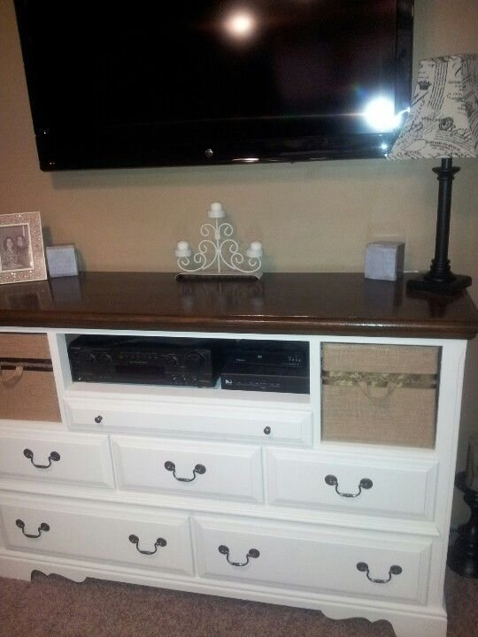 Best Diy My New Entertainment Center For My Bedroom Bought With Pictures
