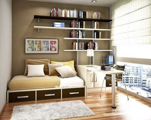 Best Small Bedroom With Study Room Design For Kids Ideas Home With Pictures