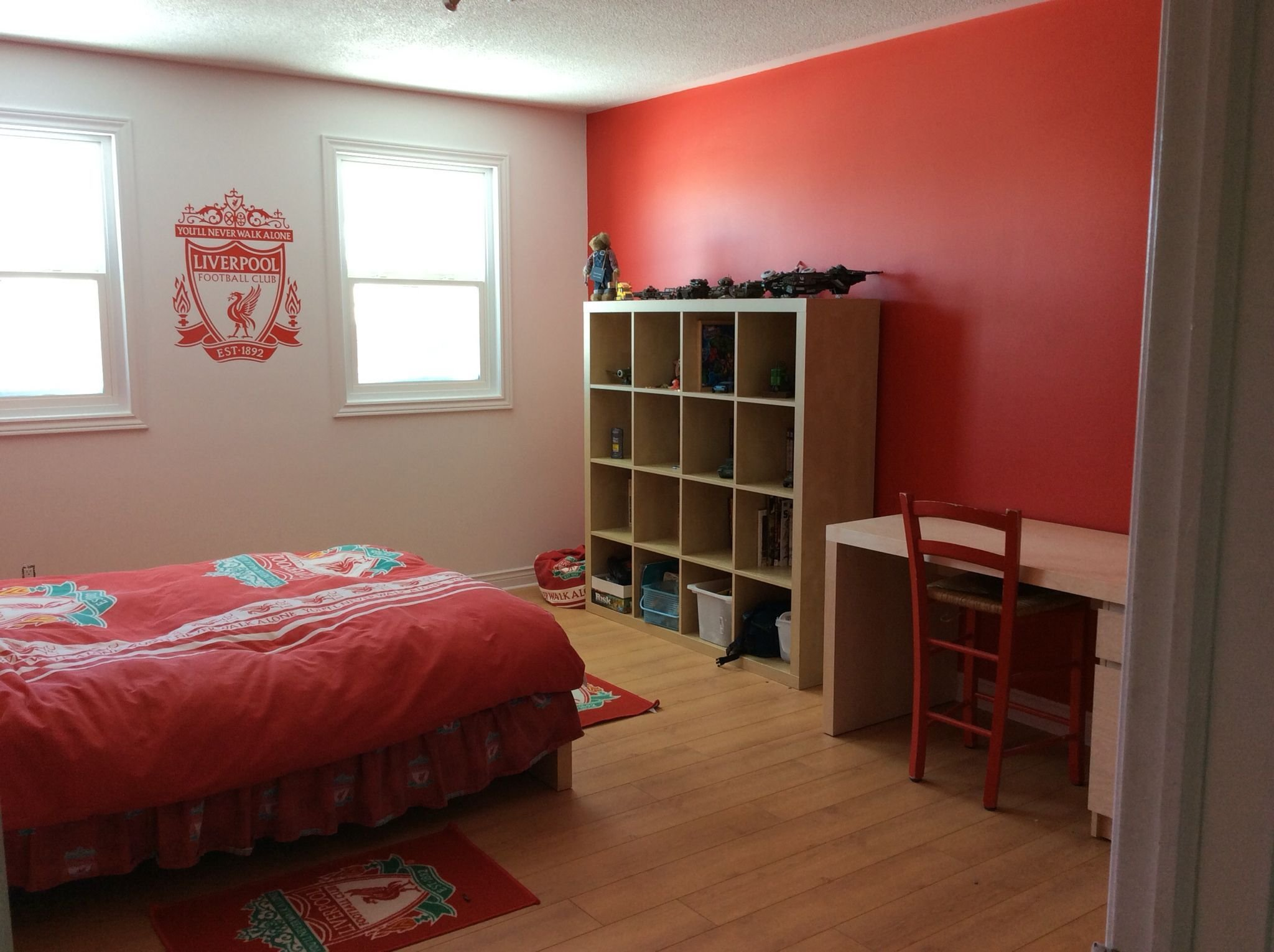 Best The Liverpool Fc Bedroom Kid's Room In 2019 Modern Bedroom Furniture Room Decor Bedroom Decor With Pictures