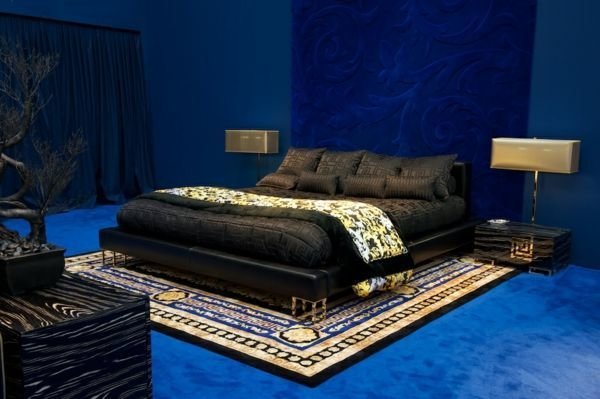 Best Versace Home Collection 2012 Black Bed Design For The With Pictures