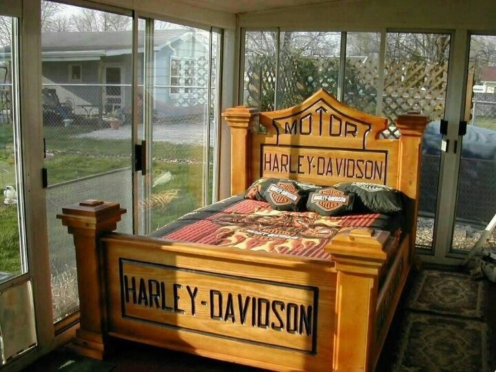 Best Harley Davidson Headboard Hd Bedroom Headboard N With Pictures
