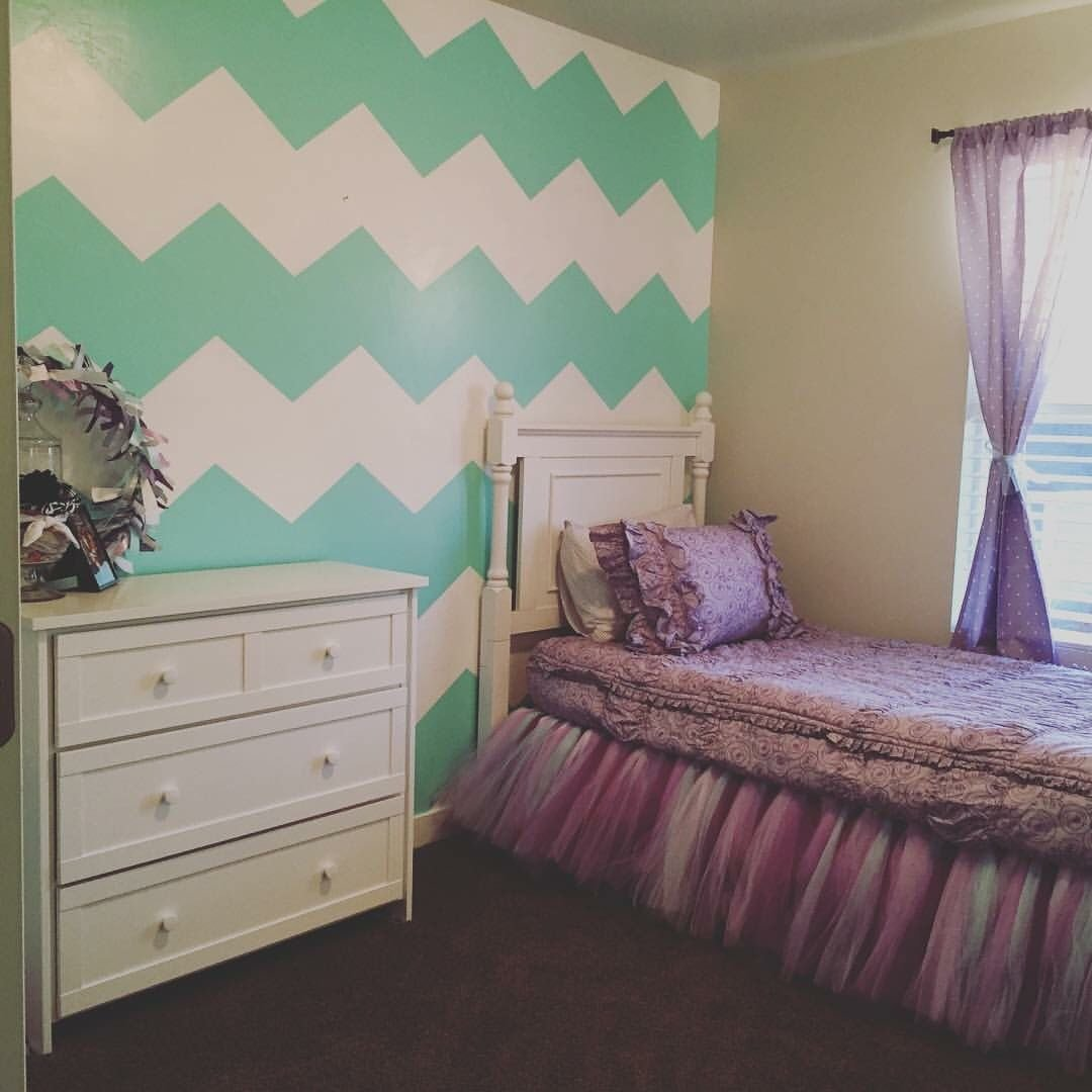 Best Teal Aqua And Purple Little Girls Room Toddler Girl With Pictures