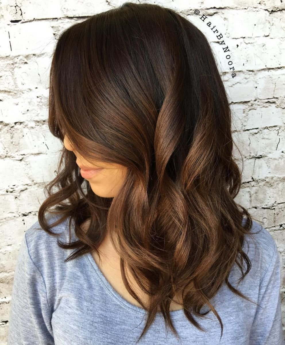 Free Pin By Annora On Hair Color Inspiration Chocolate Brown Wallpaper