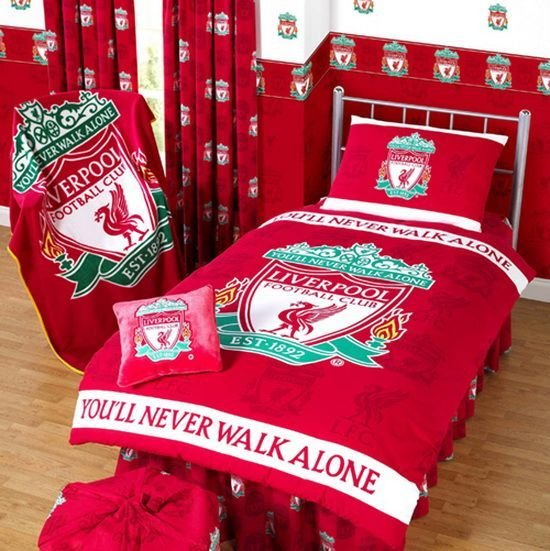 Best Liverpool Fc Bedroom Interior Design And Furniture Ideas Bedrooms In 2019 Soccer Room Decor With Pictures