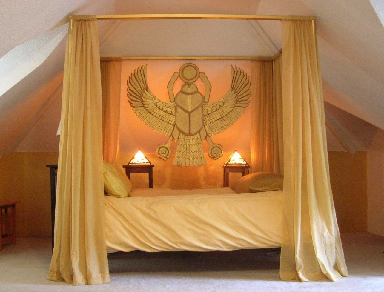 Best Bedroom In The Ancient Egyptian Style By Paul Sternberg With Pictures