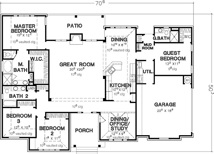Best House Plans Bedroom One Story Homes Cabin Floor Design With Pictures