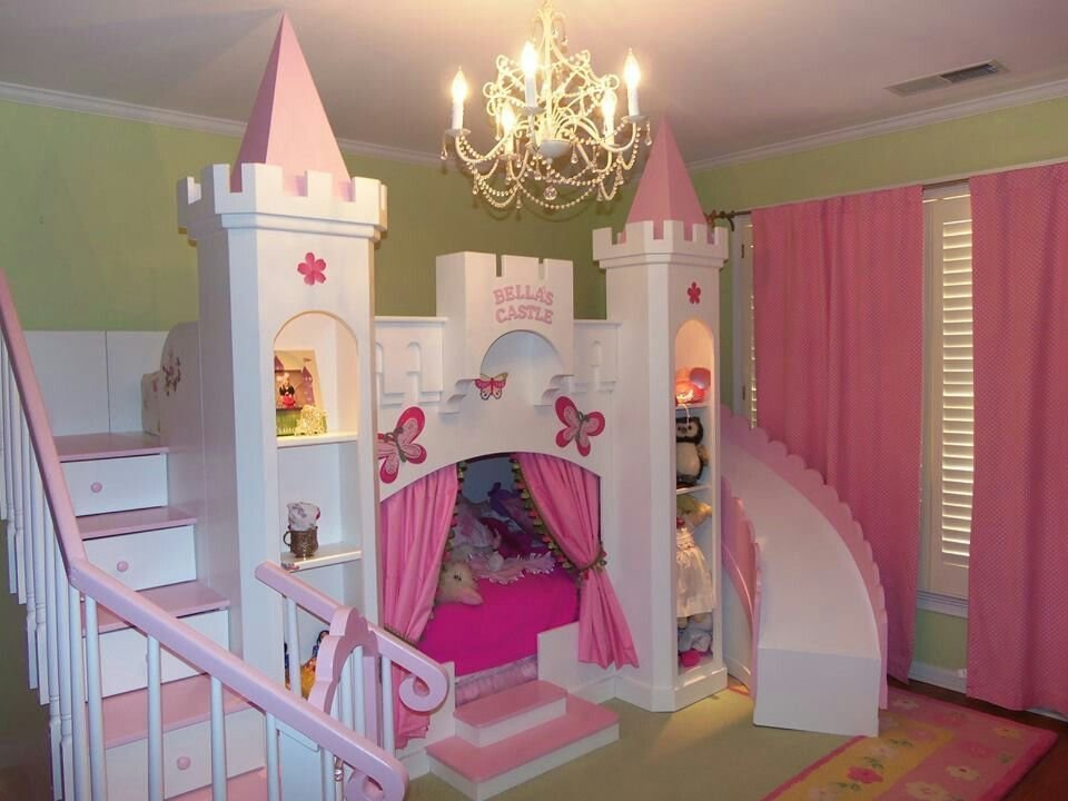 Best Princess Bed For The 5 Year Old For The Home Castle With Pictures