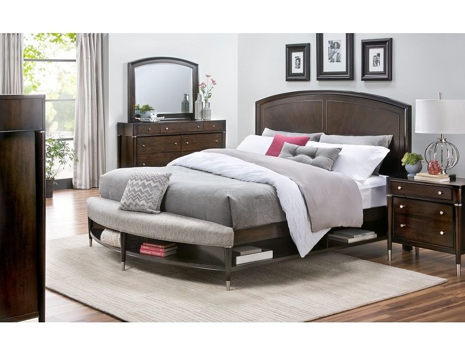 Best Slumberland Broyhill Vibe Collection 4Pc Cherry Qn With Pictures
