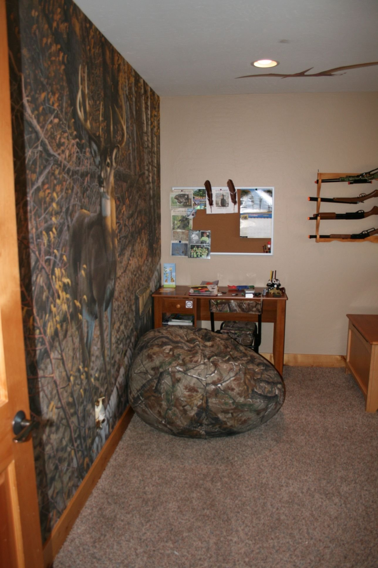 Best My Son S New Hunting Themed Room Creative Rooms With Pictures