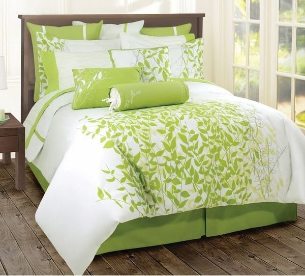 Best Bright Bedding Comforters Bright Bedding Green With Pictures