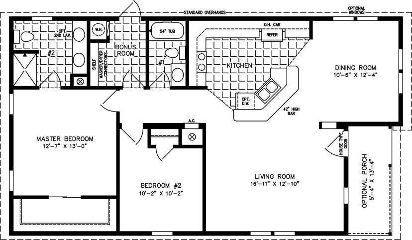 Best 1000 Sq Ft House Plans Bedrooms 2 Baths Square Feet 1191 With Pictures