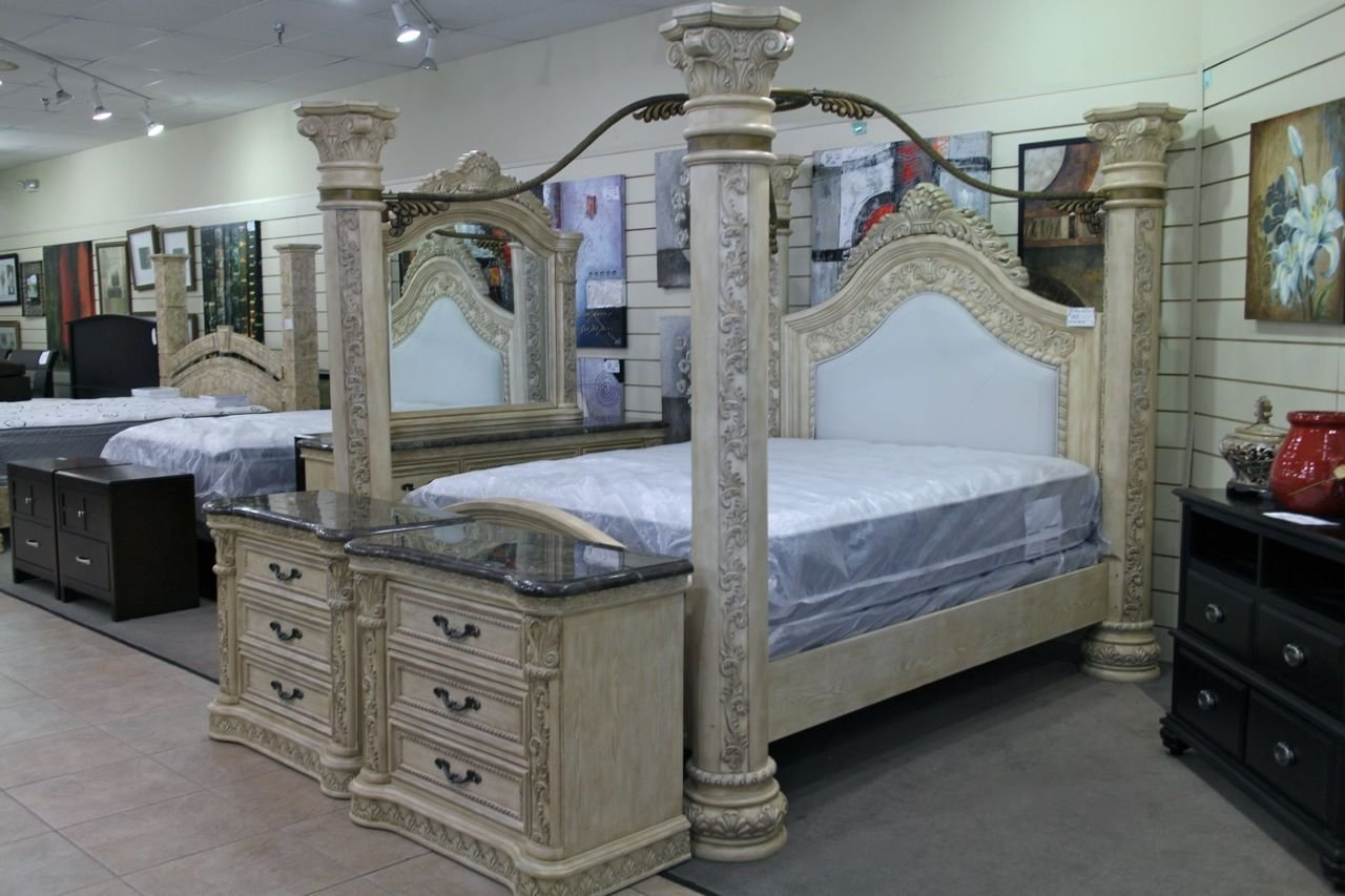 Best King Canopy Bedroom Set Colleen S Classic Consignment With Pictures